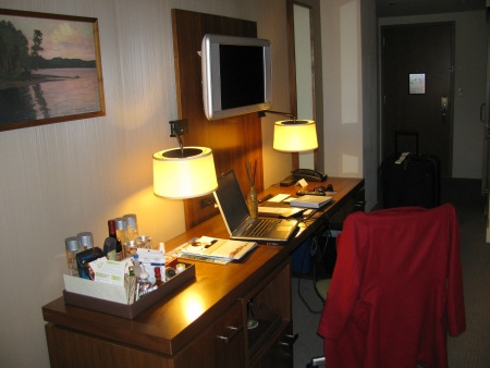 hotel vitale work desk