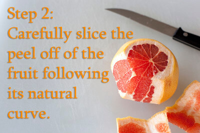 how-to-section-grapefruits