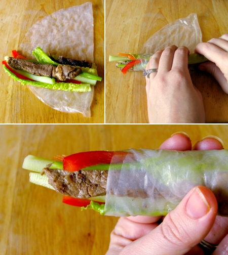 how to wrap vietnamese summer rolls