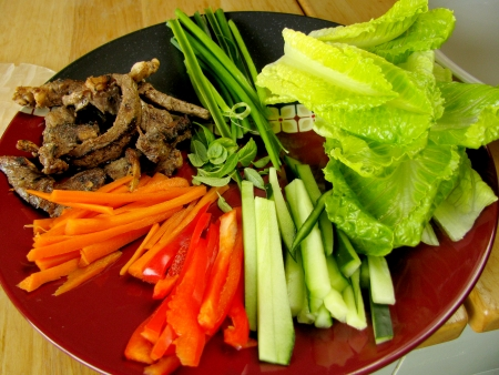 ingredients beef vietnamese summer rolls