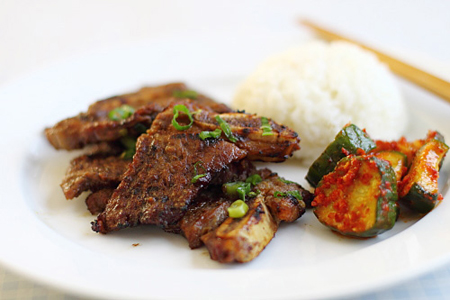 Korean Kalbi Ribs Recipe on Rasa Malaysia