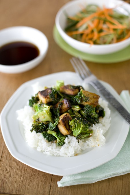 Easy Kale Recipe with Fried Tofu