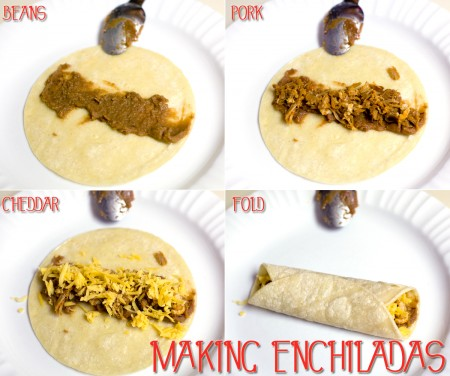 making-enchiladas