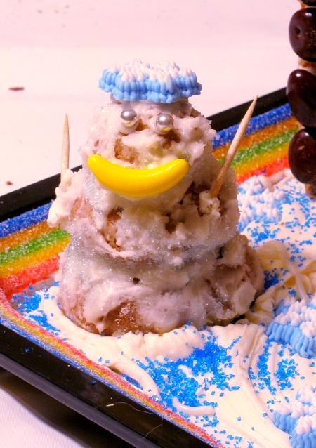 monkey snowman