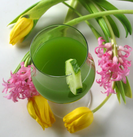 Cucumber Juice Recipe and My Views on Alcohol