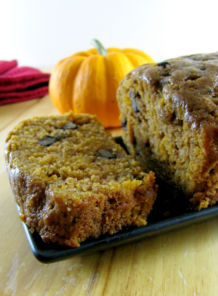 Pumpkin Bread Uses Up Pumpkin Guts