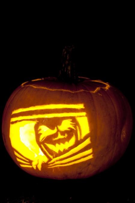 Johnson Family Pumpkin Carving Eating Richly