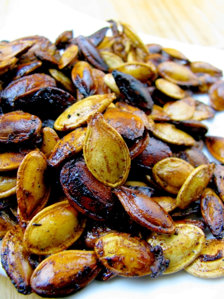 Roasted Pumpkin Pie Seeds