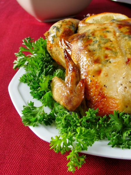 roast cornish hen for the holidays