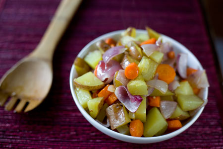 Roasted Root Vegetable Recipe