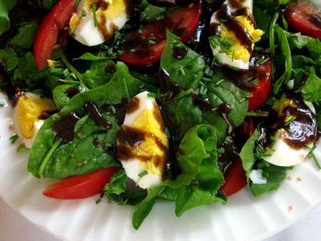 Easy delicious spinach salad recipes