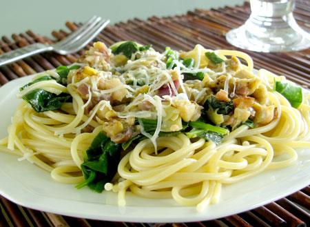 Spinach and Artichoke Pasta Recipe