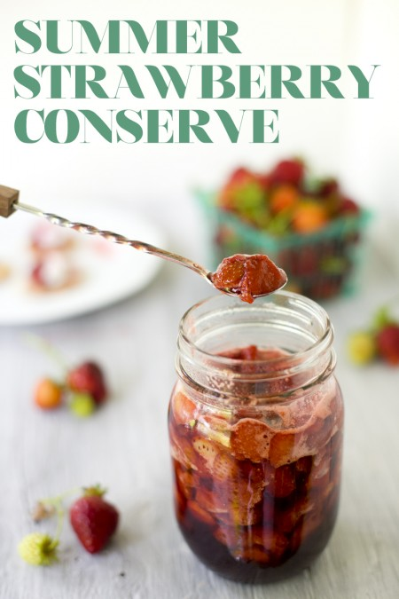 strawberry conserve recipe text