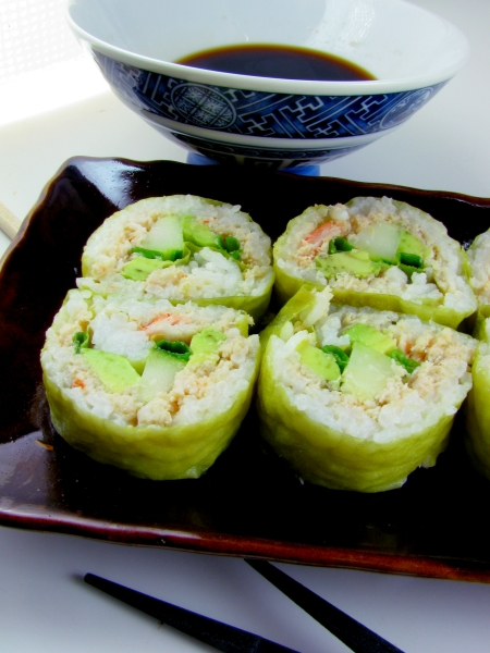 Spicy Dungeness Crab Sushi