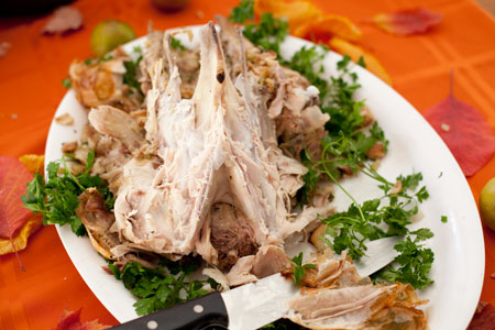 turkey-carcass