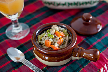 Turkey Barley Soup Recipe