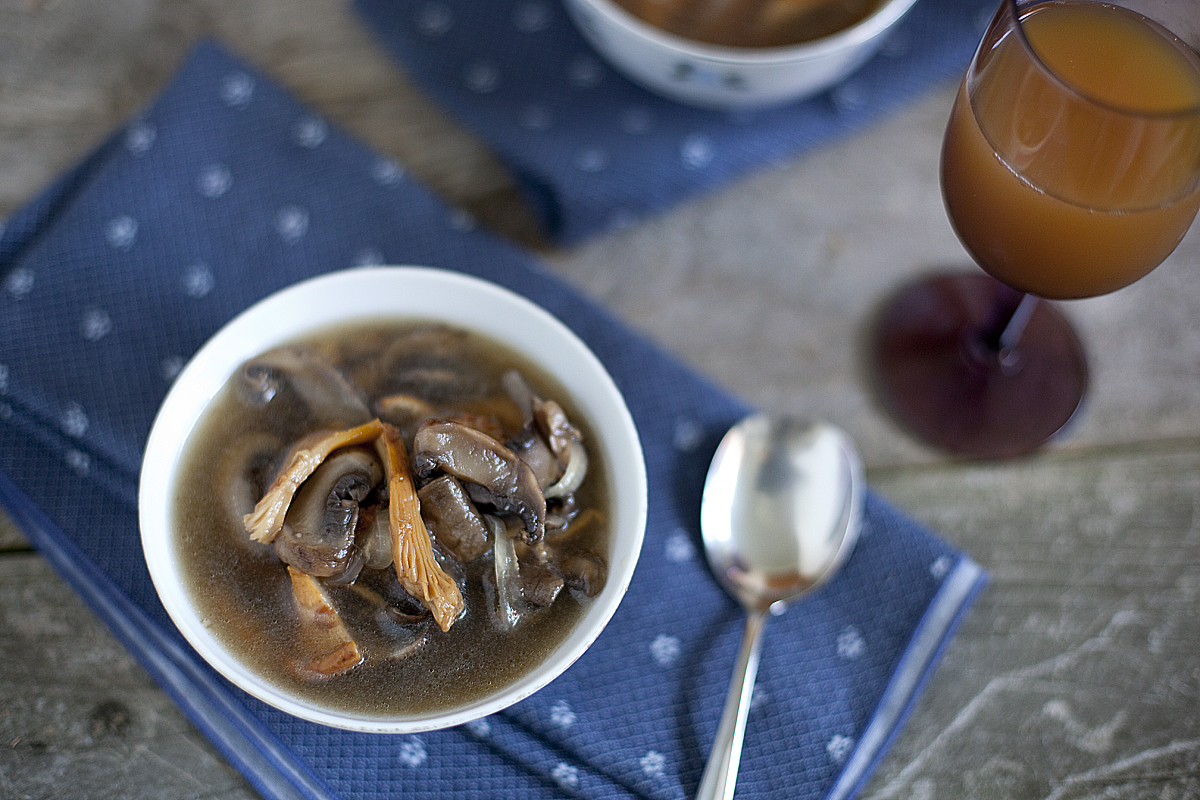 Asian Mushroom Soup Recipe