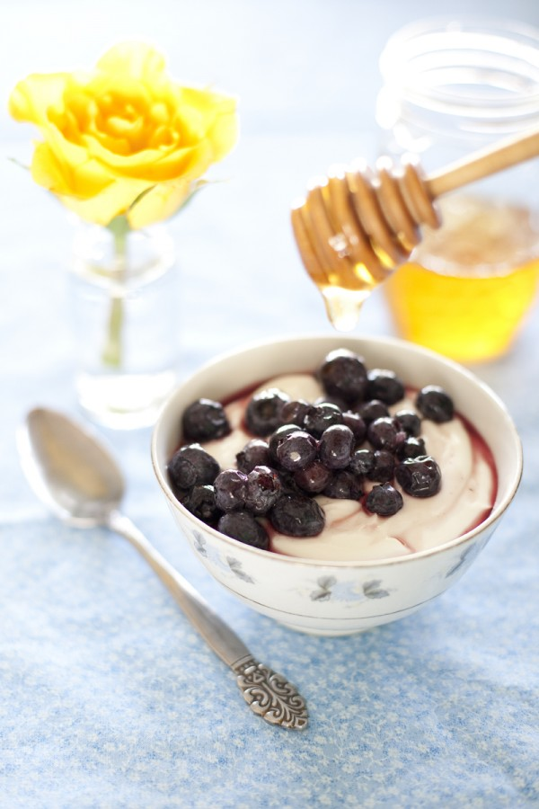 blueberry-honey-yogurt-recipe