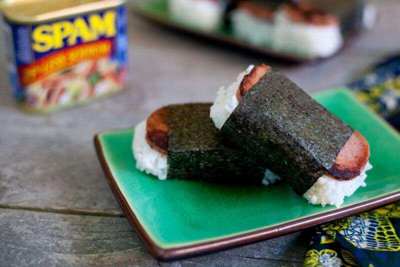 SPAM musubi recipe Hawaiian Style