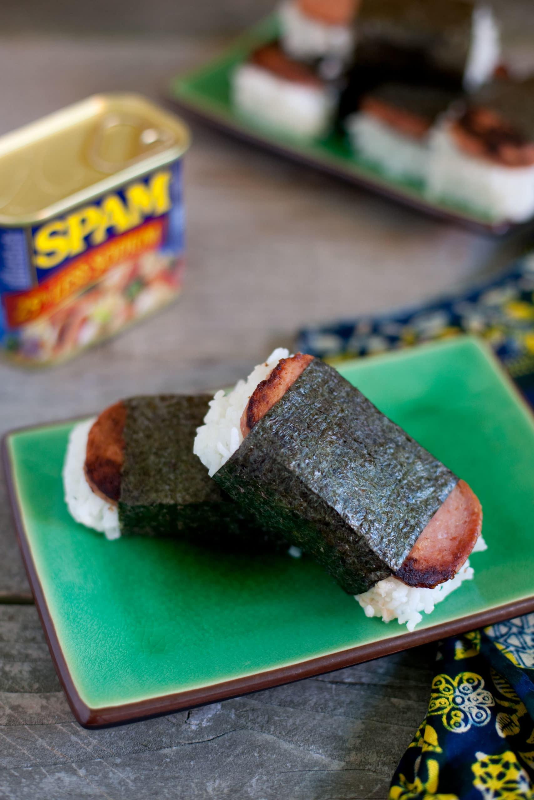 Spam Musubi Recipe Hawaiian Style Eating Richly