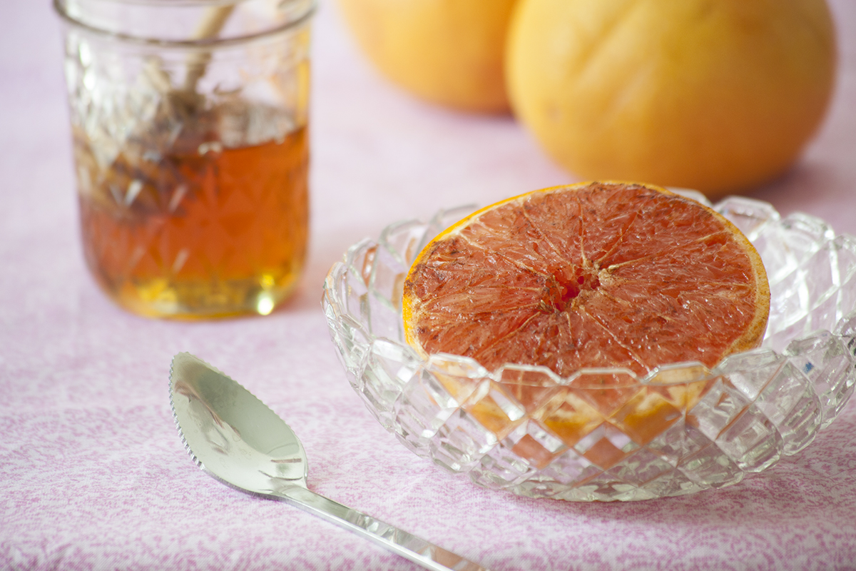 Baked Grapefruit Recipe