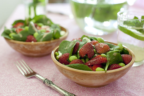strawberry-edamame-salad