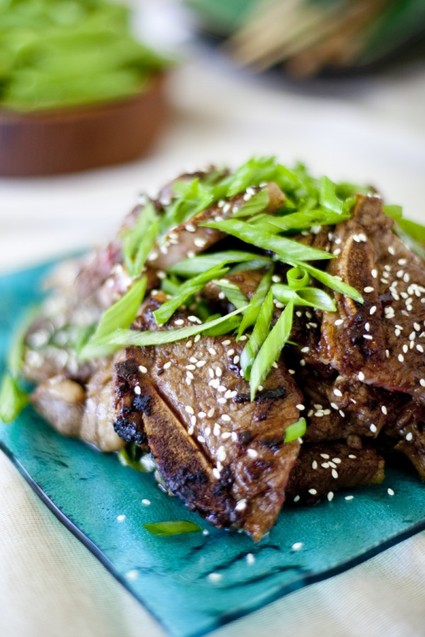 Korean Kalbi Beef Ribs Recipe