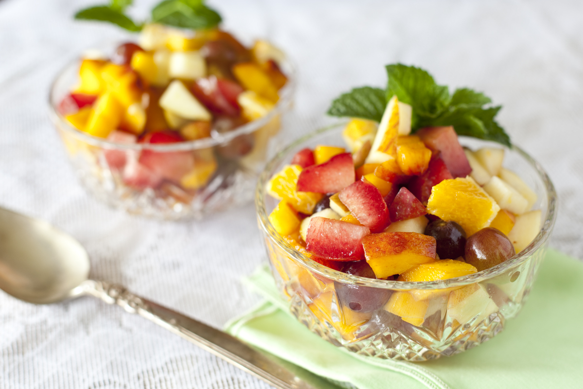 healthy fruit salad recipe organic fruit