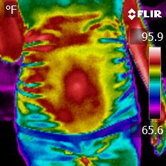 19-weeks-pregnant-infrared