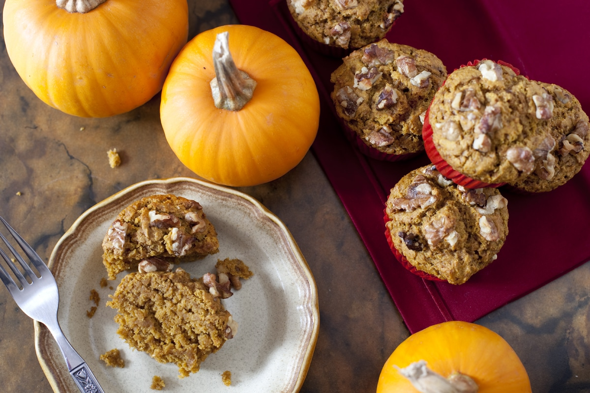 Whole Wheat Pumpkin Muffin Recipe