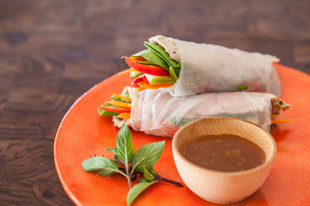 Vietnamese Spring Rolls with Slow Cooker Pork Recipe (and video!)