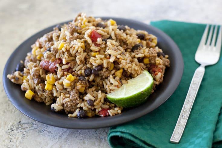 Beef Mexi Rice Recipe