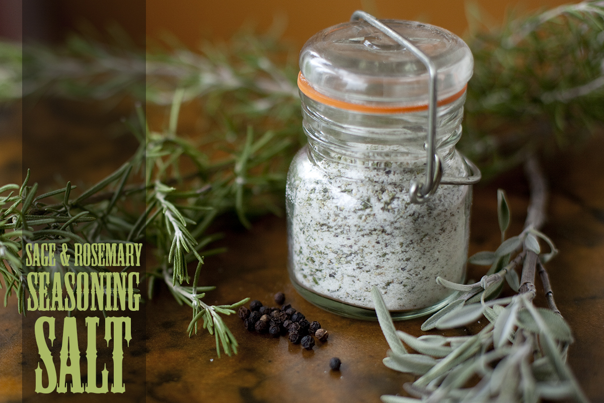 Rosemary Sage Seasoning Salt Recipe