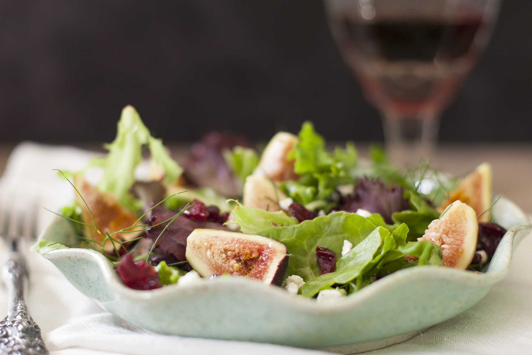Summer Fig Salad Recipe Eating Richly
