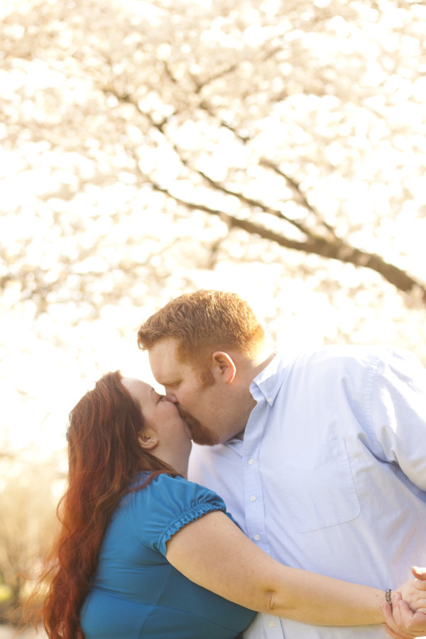 Spring Engagement Photo Shoot - EatingRichly.com
