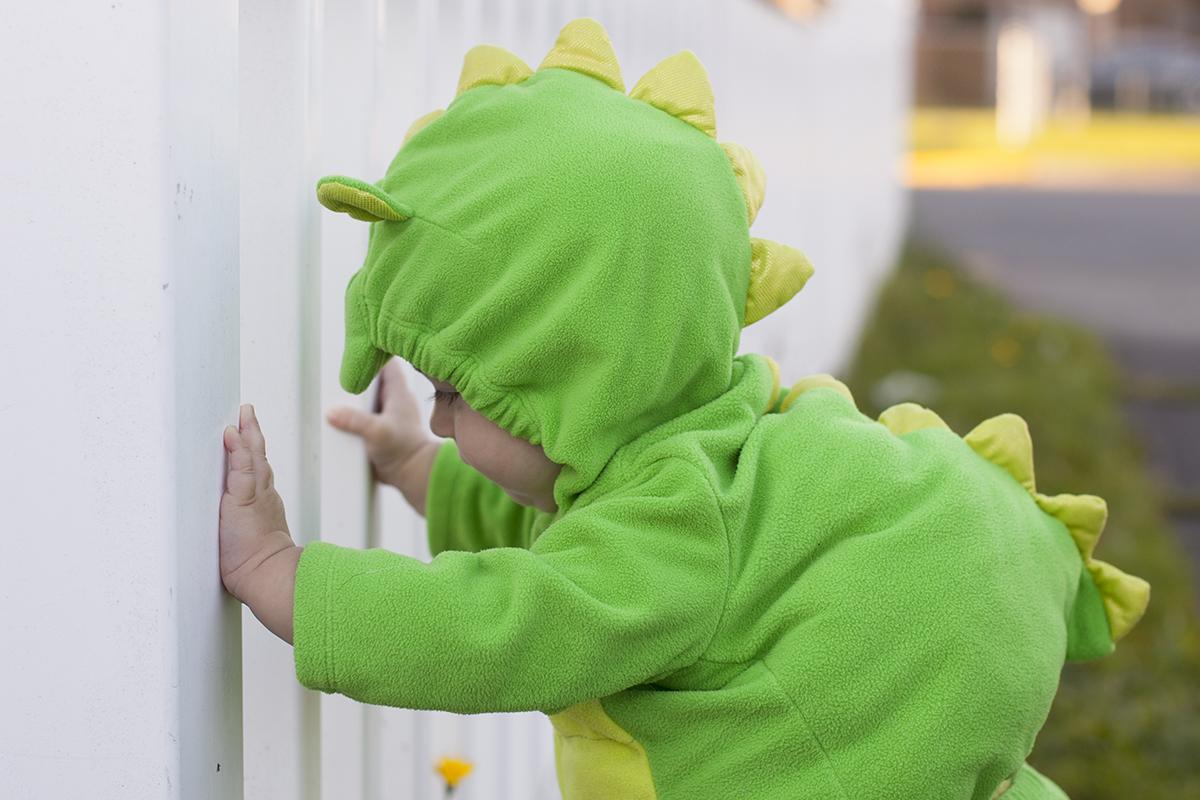 Corban's First Halloween and Pumpkin Patch