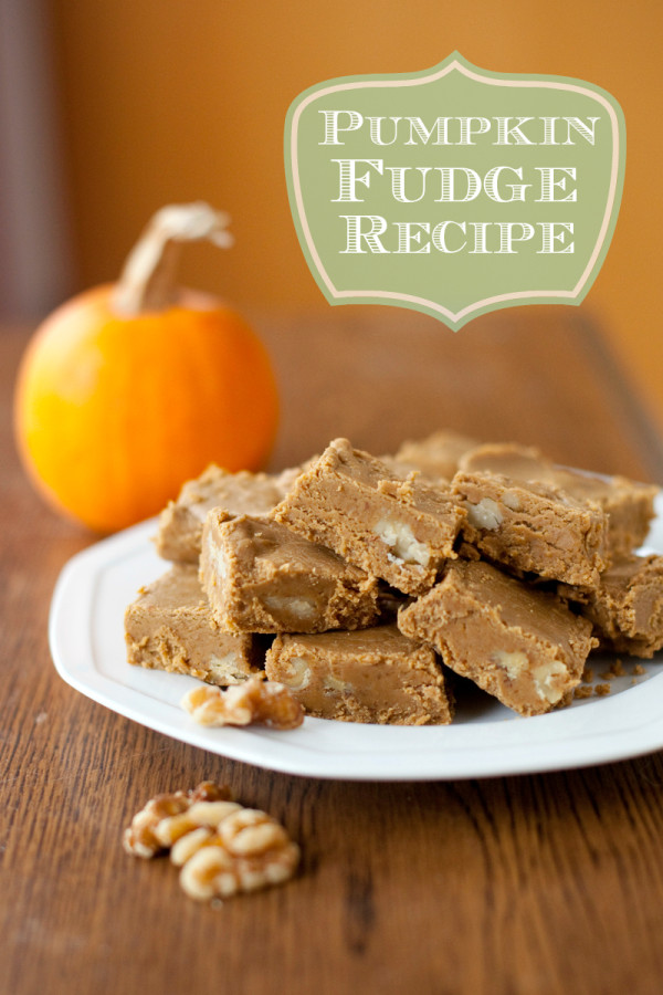 This pumpkin fudge is full of fall flavor, and surprisingly easy to make. A wonderful edible gift or Thanksgiving treat. | EatingRichly.com