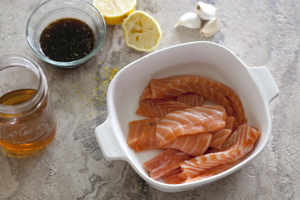 Soy salmon skewers are an impressive appetizer or main dish that can be ready in under 20 minutes   EatingRichly.com