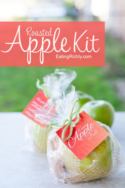 Cinnamon Sugar Roasted Apple Kit Edible Gift