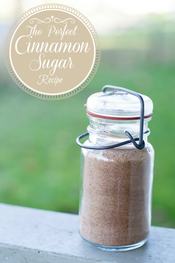 How to make cinnamon sugar | EatingRichly.com