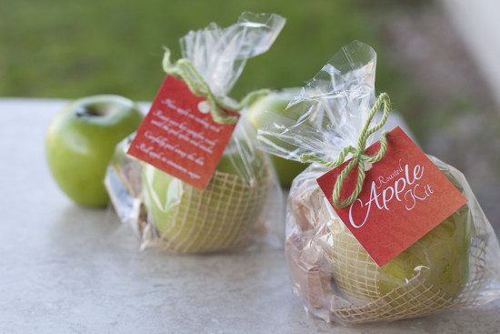 Easy edible gift recipe, a roasted apple kit! | EatingRichly.com