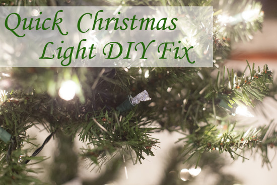Free DIY Christmas light bulb tester and repair | EatingRichly.com