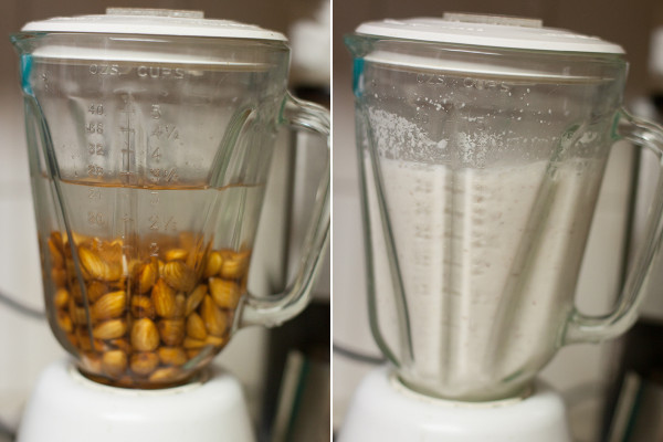 Homemade Almond Milk Slow Juicer : Eating richly even when you re broke Homemade Almond Milk Recipe in a Juicer or Blender