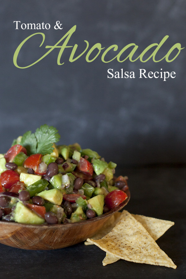 Fresh Tomato and Avocado Salsa | Homemade Salsa Recipes | Homemade Recipes