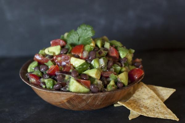 Fresh Tomato and Avocado Salsa for the Super Bowl (Go Hawks!)
