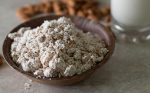 Tons of tips and recipes for using up almond meal leftover from homemade almond milk. EatingRichly.com