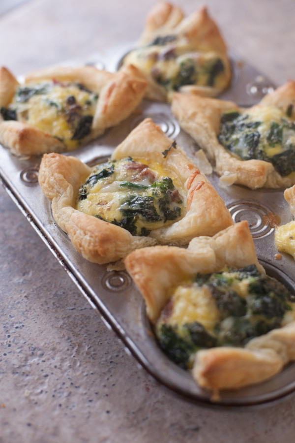 These cute individual quiches are a fun way to make breakfast fancy ...