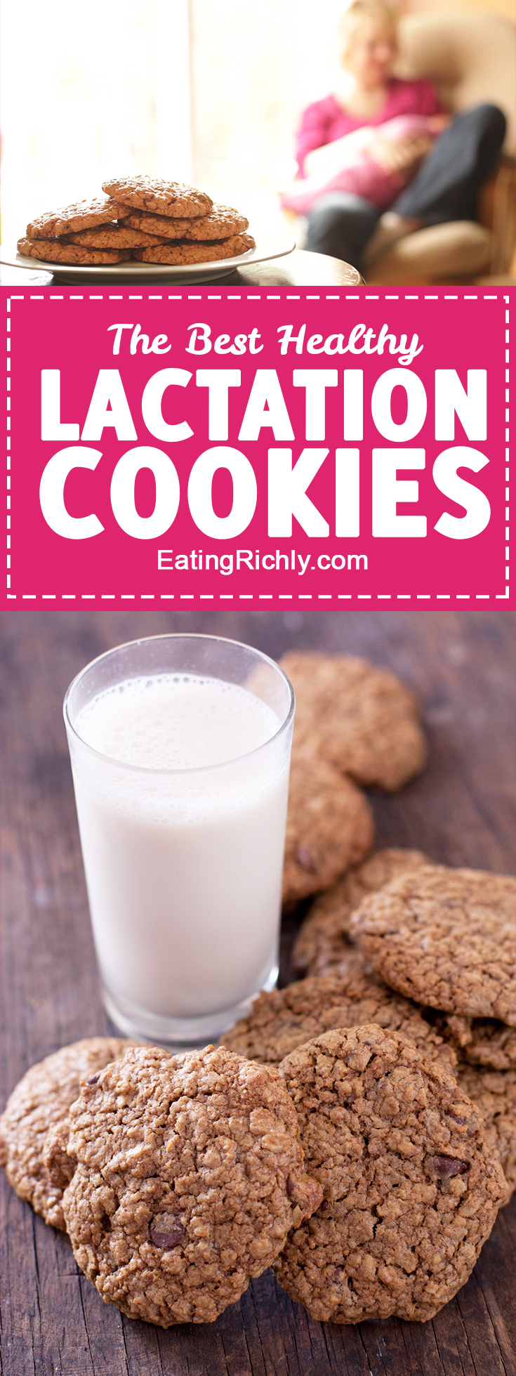 The best lactation cookies recipe for breastfeeding moms - EatingRichly.com