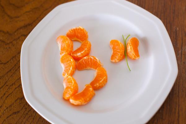 B is for Butterfly Healthy Preschool Snack