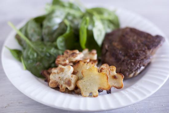 Oven Roasted Shamrock Potatoes St Patricks Day side dish recipe EatingRichly.com